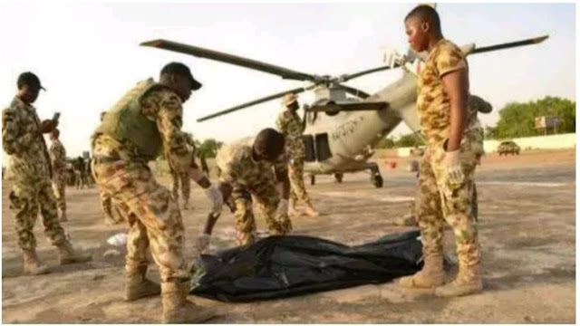 Airforce Chief Marshall's Head Chopped off by Helicopter Blade Chop In Borno