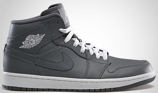 quality design 2f853 1461c 04 01 2013 Air Jordan 1 Retro Mid 554724-015 Black Black-Grape Ice-New  Emerald  105.00