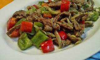 Resep Masakan Daging Iris Paprika