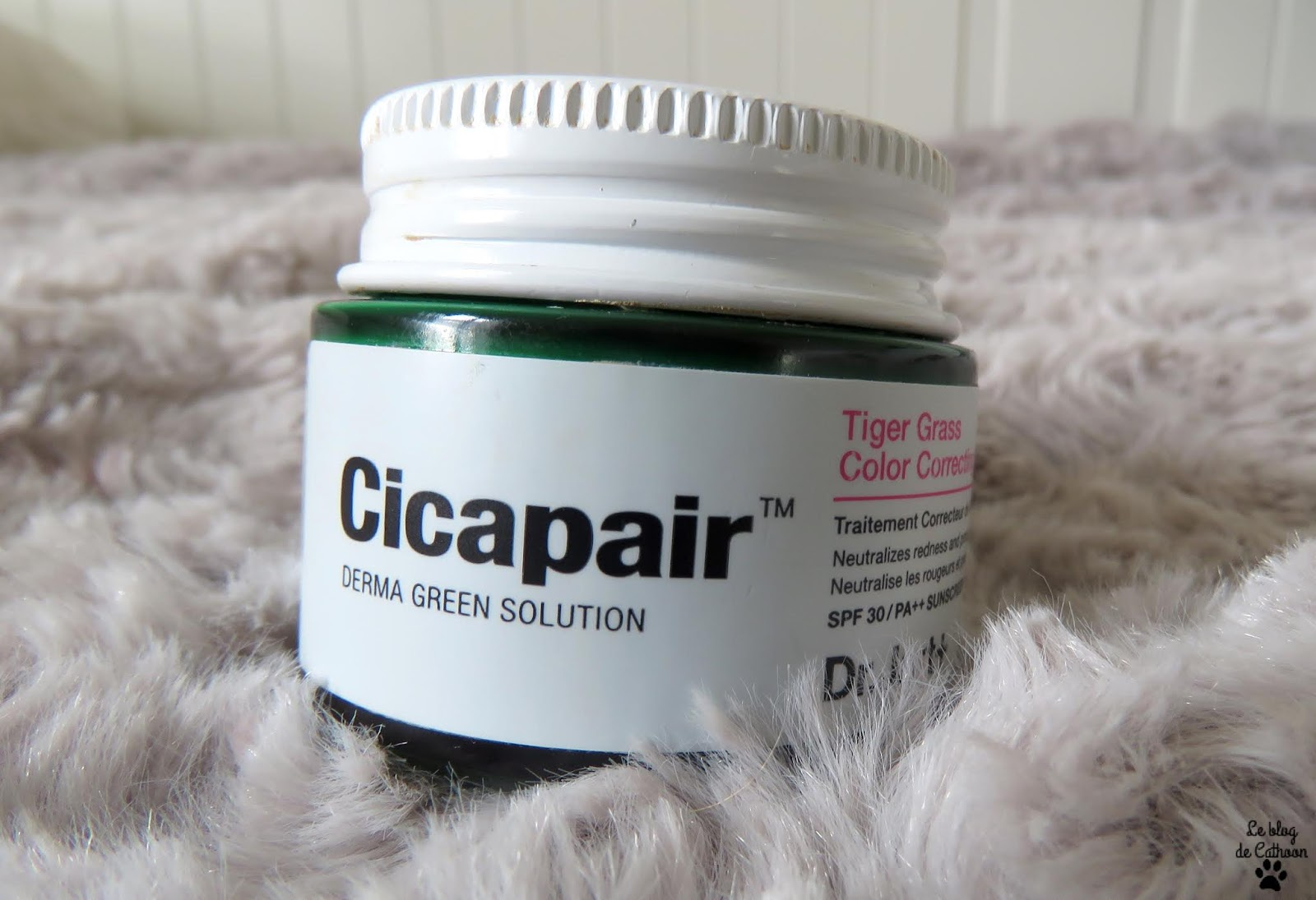 Cicapair - Tiger Grass Color Correcting Treatment - Dr.Jart+