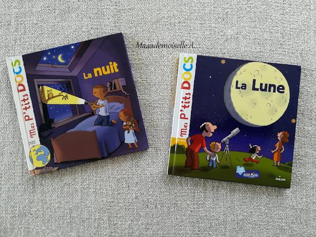 Mes P'tits Docs La nuit - La Lune