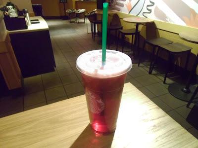 Starbucks Trenta Iced Passion Tango Tea refill