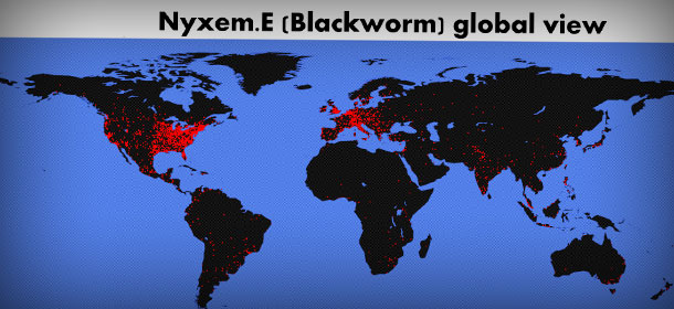 "One of the most dangerous virus""Blackworm (2006)"""