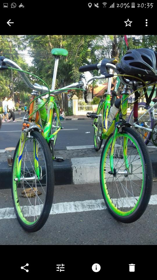 Modifikasi Sepeda Mini Ukurqn 20 Inci