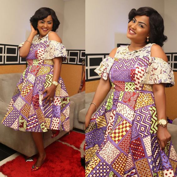 Smooth  Lovely Ankara Short Gown Styles for Beautiful Ladies  Zaineeys Blog