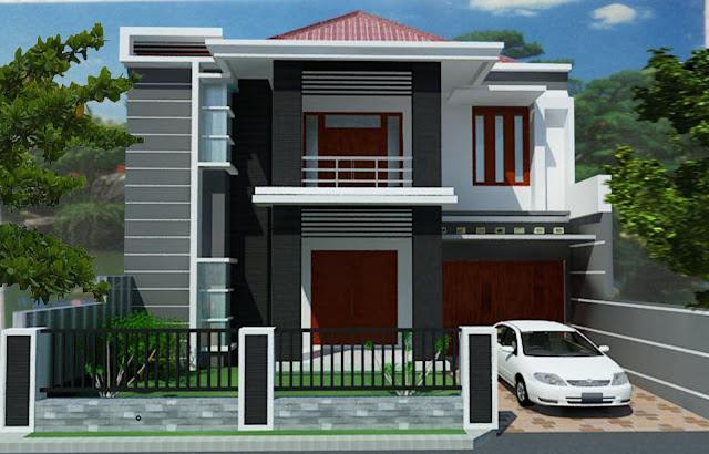 Model Desain Rumah 2 Lantai Minimalis