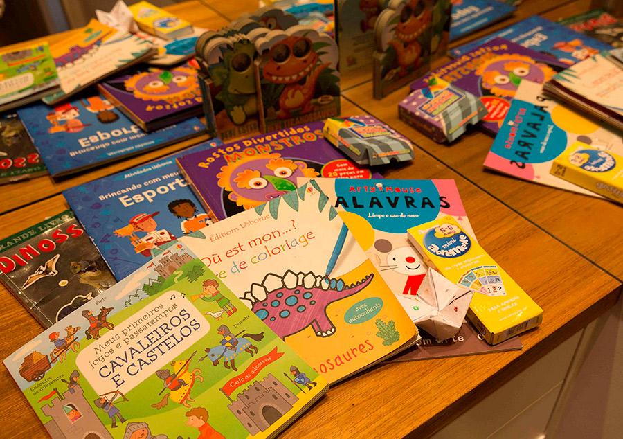 Livros e Ideias para divertir crianças em viagens