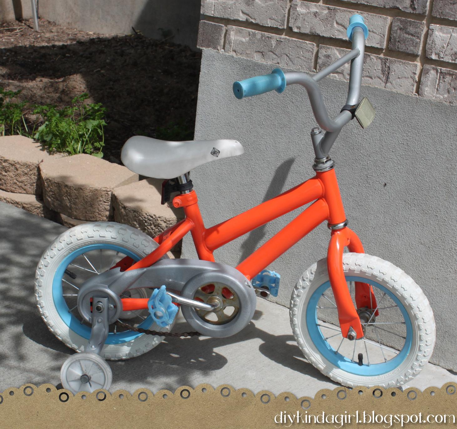 How to Paint a Bike- {DIY Kinda Girl} - Infarrantly Creative