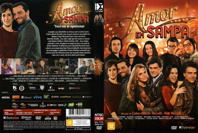 Capa DVD Amor em Sampa