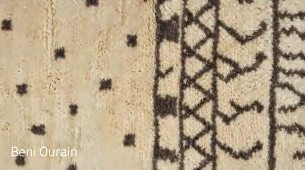 Moroccan Beni ourain rugs