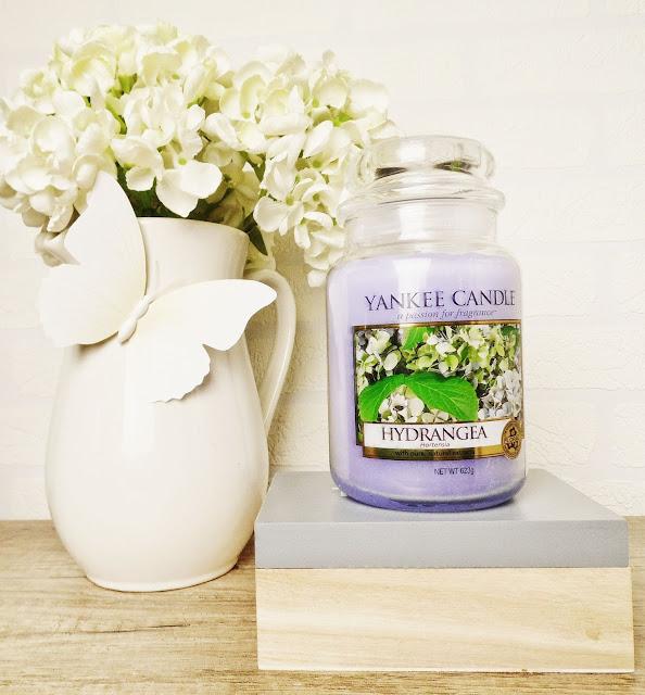 Yankee Candle Hydrangea
