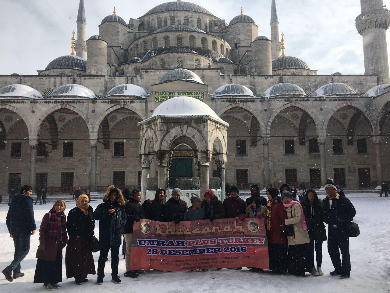 Blue mosque umroh Turki