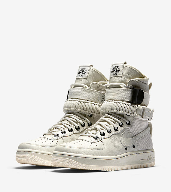 Special Filed Air Force 1 na cor Light Bone