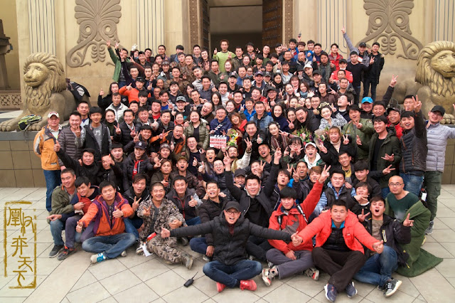 Rise of the Phoenixes Filming Wrap