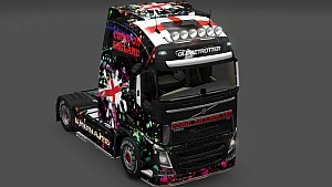 England skin for Volvo 2012