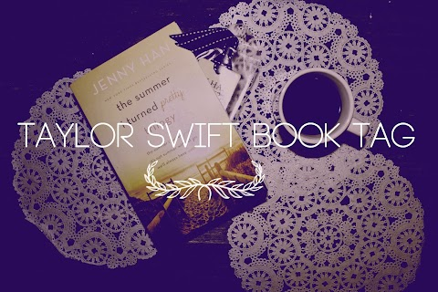 Tag Tuesday: Taylor Swift Book Tag