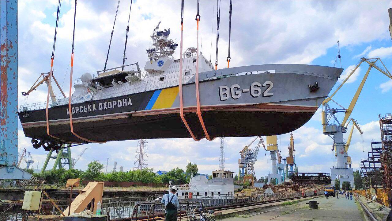 Розпочався доковий ремонт BG62 Поділля