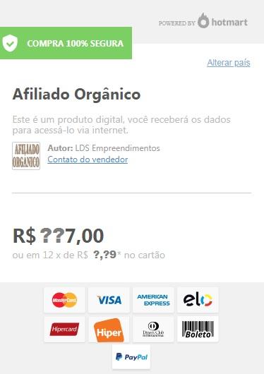 link de compra curso afiliado orgânico