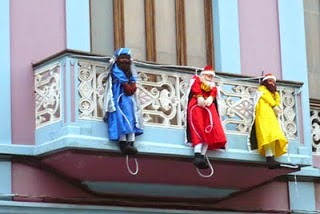 Decorar balcón navidad
