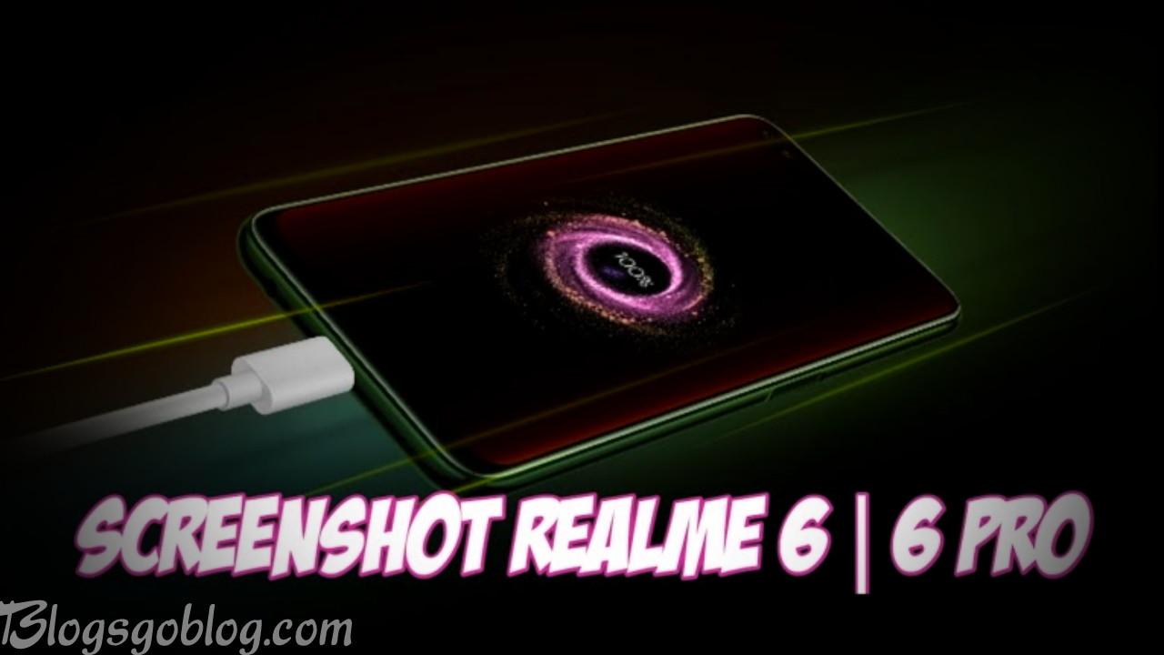 Cara Screenshot HP Realme 6 dan Realme 6 Pro Terbaru