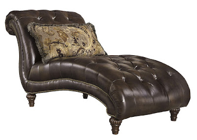 button tufted living room chaise