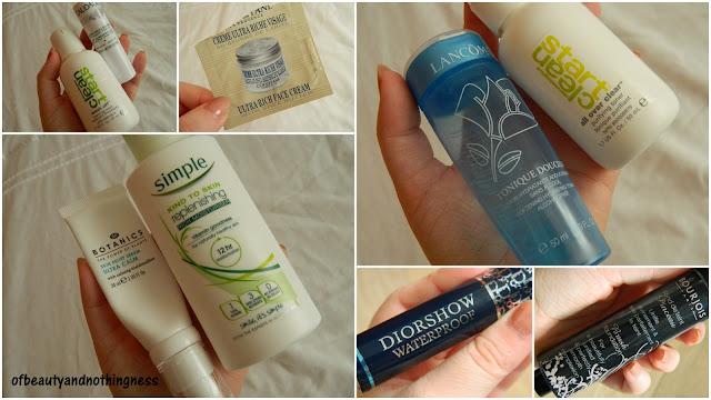 September Empties: Skincare & Makeup