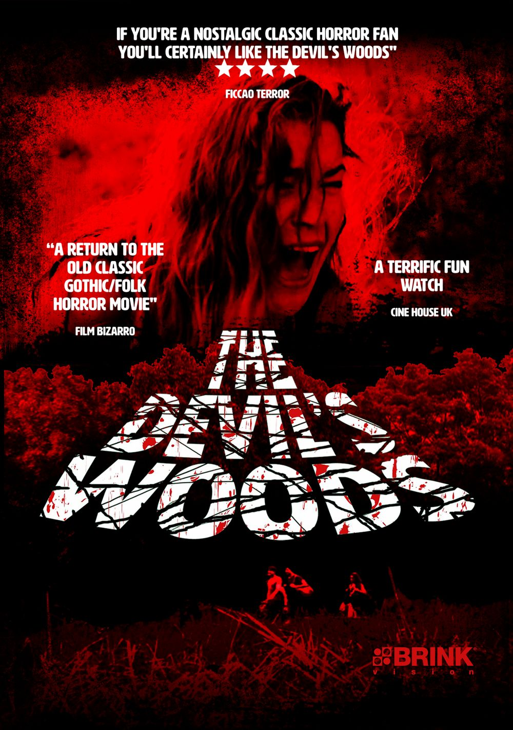 The Devil s Woods poster. Body Count Rising   Horror Blu ray   DVD News   Reviews  2016 05 01