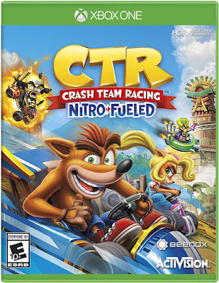 Crash Team Racing Nitro Fueled Game Cover Xbox One