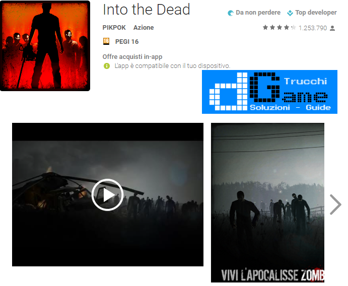Trucchi Into the Dead Mod Apk Android v2.5