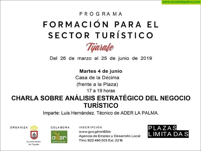 Charla Análisis Estratégico del Negocio Turístico en Tijarafe