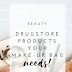 Drugstore products your make-up bag needs