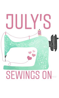 July's sewings on
