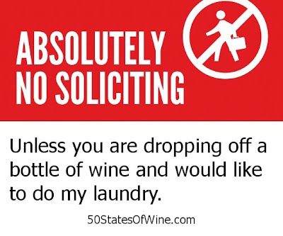 No Soliciting! (Unless...)