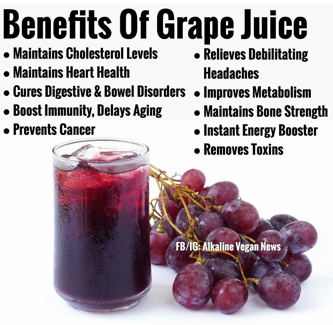 benefits of grape juice - mia liana