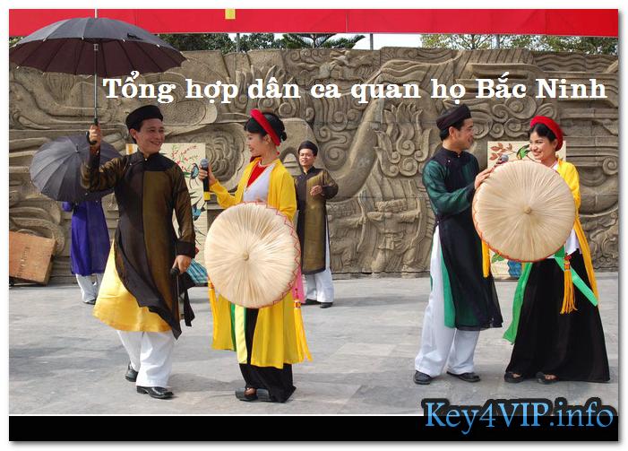 Tổng hợp nhạc chất lượng cao dân ca quan họ Bắc Ninh [WAV]