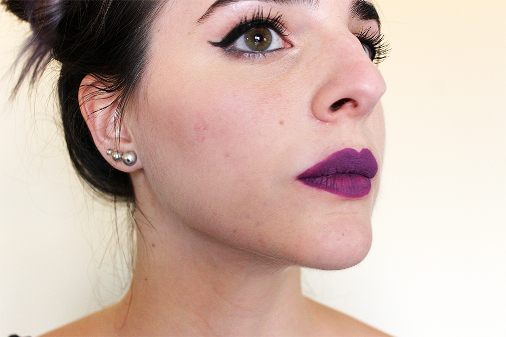 Kat Von D Everlasting Liquid Lipstick Susperia swatch