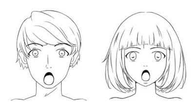 Personnage avec la bouche grande ouverte