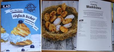 Das Buch Ich machs mir einfach von Patrick Rosenthal mit seinen Crunchy Madeleines