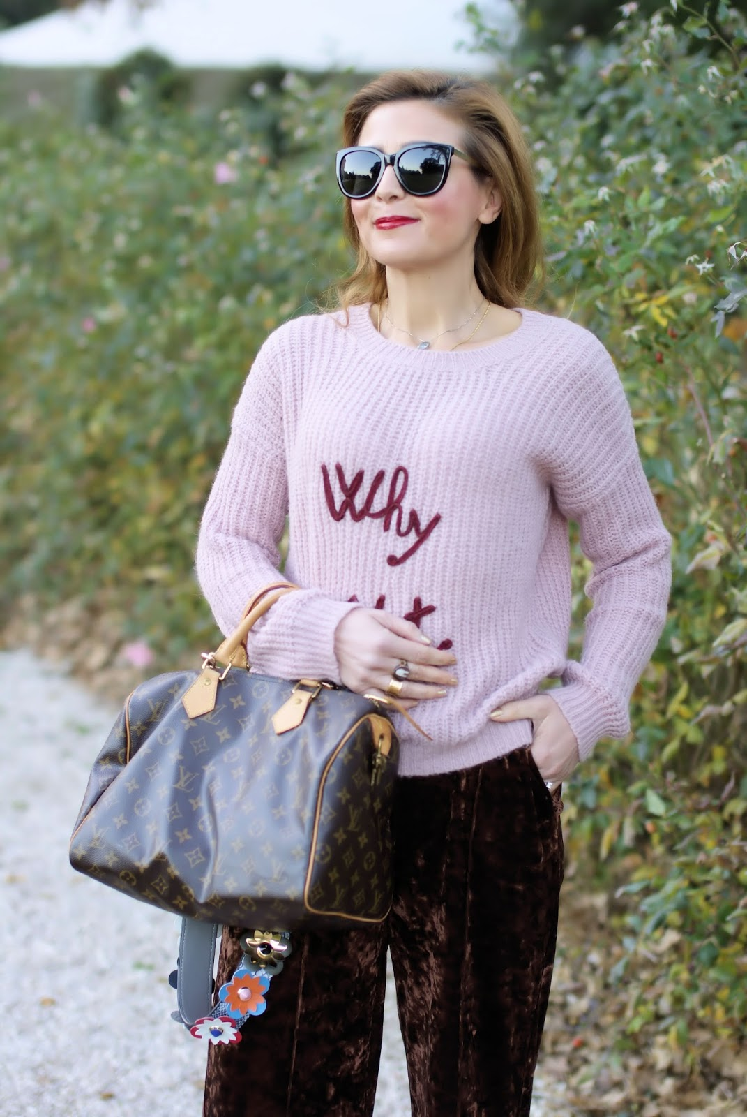 Why not sweater, Dixie sweater on Fashion and Cookies fashion blog, fashion blogger style
