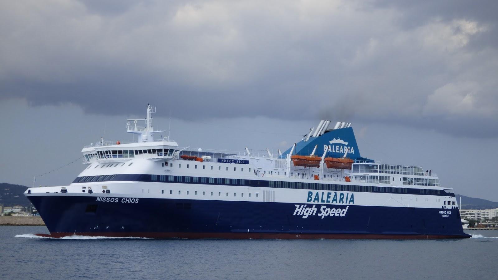 Ferrybalear el ferry griego nissos chios fletado por for Cuarto de zanty ferry