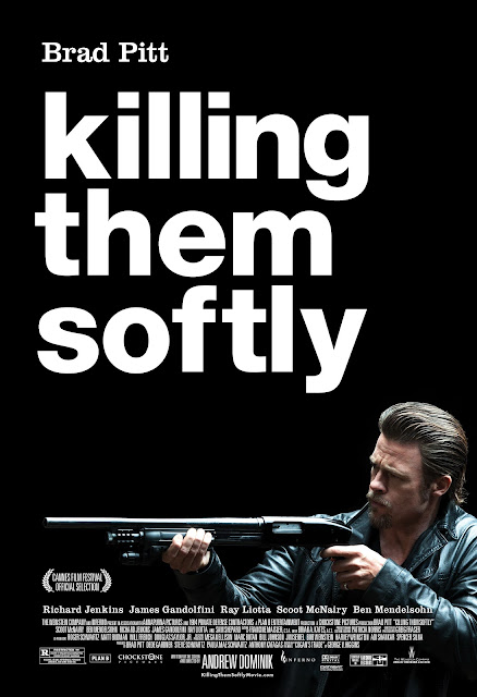 Killing Them Softly, Brad Pitt as Jackie Cogan, Directed by Andrew Dominik