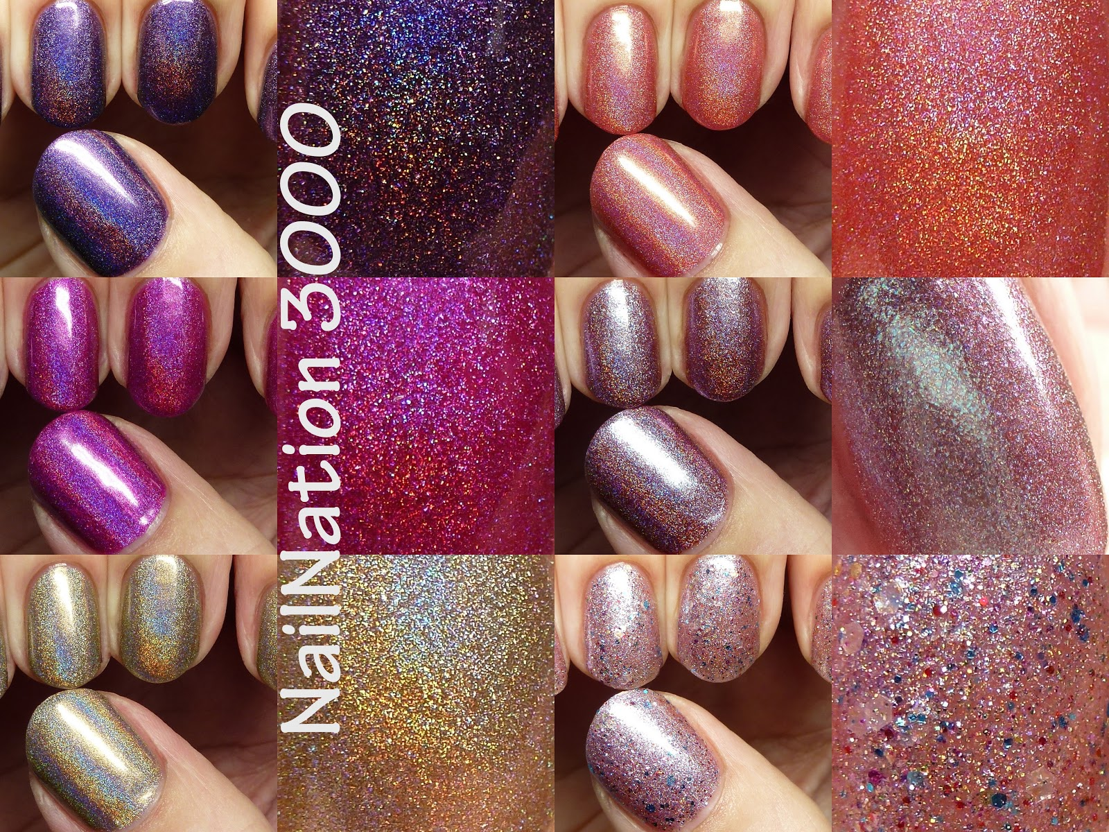 The Polished Hippy: NailNation 3000 swatches