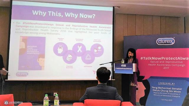 #TalkNowProtectAlways, Durex Malaysia, Tiffany Ang,