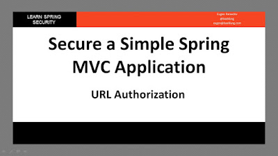 how to learn spring security