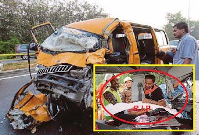 KINI VIRAL : Sayu : Tangisan bapa ratapi permergian anak .. Thivashini 7 tahun maut van sekolah di rempuh 4WD (5Gambar)