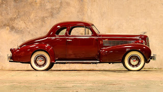 1937 Cadillac Lasalle Opera Coupe Side Right