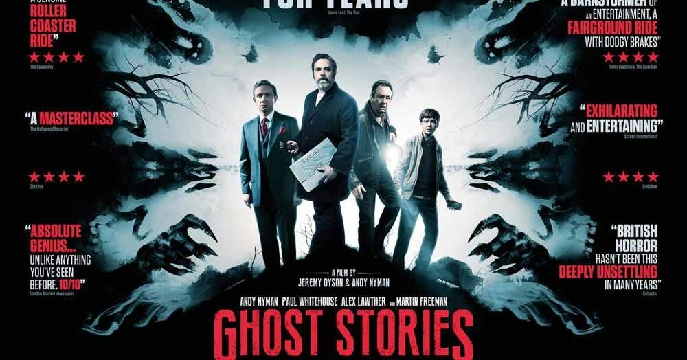 MOVIE : GHOST STORIES (2018)