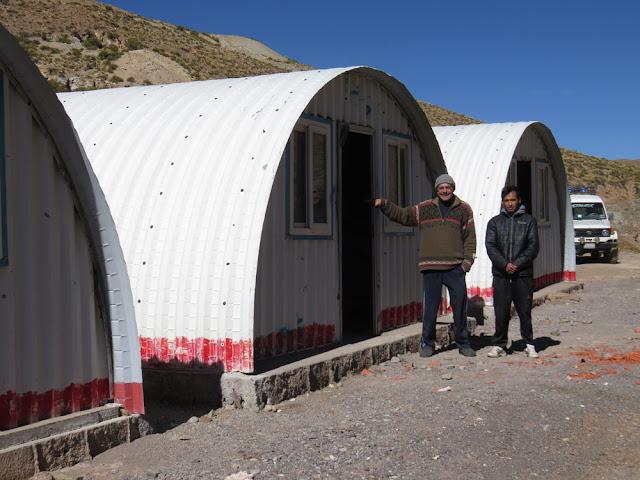 neue Wohnungen für Mineros