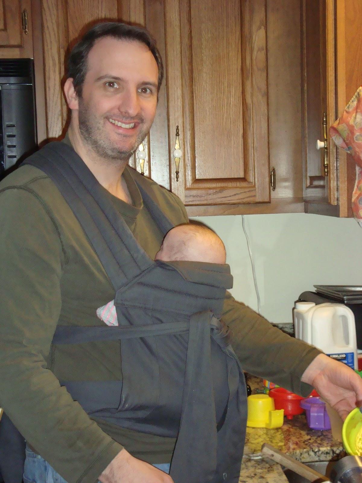 dff26fad2e80 Beltway Babywearers  Babywearing Triplets  SuperDad is my Valentine