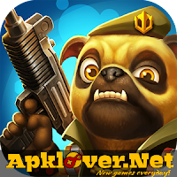 Action of Mayday: Pet Heroes MOD APK unlimited money & ammo